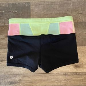 Lululemon Compression Work-Out Shorties
